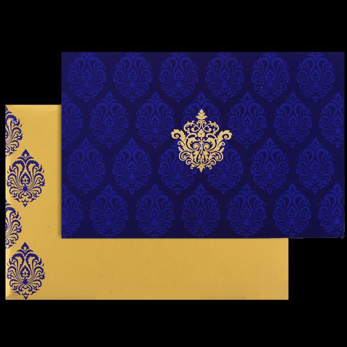 Muslim Wedding Cards - MWC-9117BG
