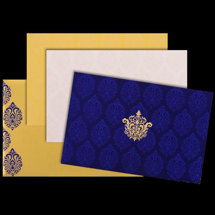 Muslim Wedding Cards - MWC-9117BG - 4