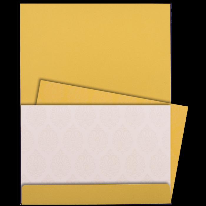 Hindu Wedding Cards - HWC-9117BG - 5