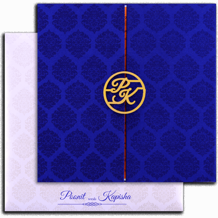 Muslim Wedding Cards - MWC-9436