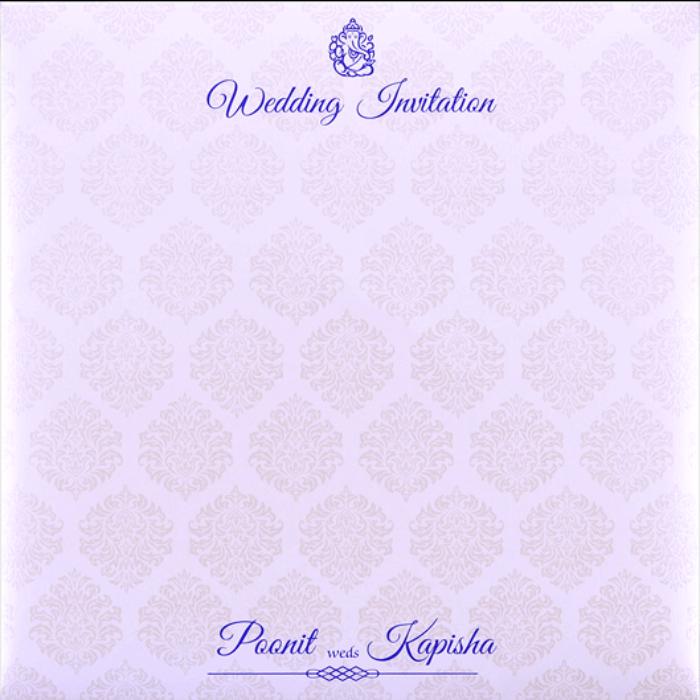 Hindu Wedding Cards - HWC-9436 - 4