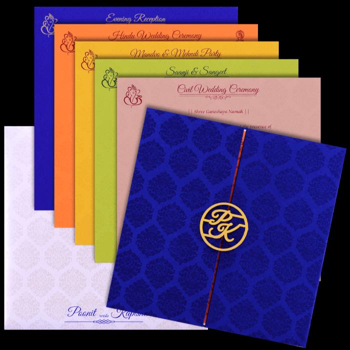 Hindu Wedding Cards - HWC-9436 - 5