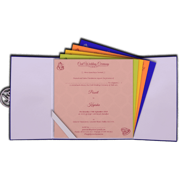Laser Cut Invitations - LCC-9436 - 3