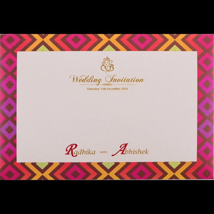Hindu Wedding Cards - HWC-9437 - 4