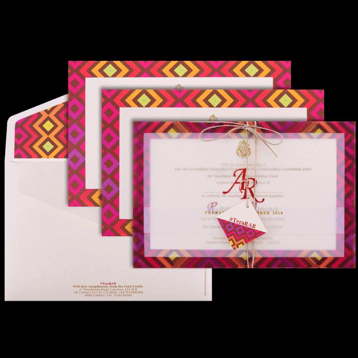 Hindu Wedding Cards - HWC-9437 - 5