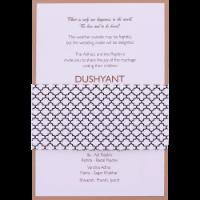 Muslim Wedding Cards - MWC-9522
