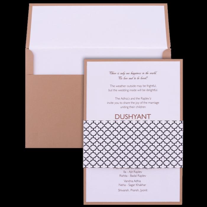 Muslim Wedding Cards - MWC-9522 - 4