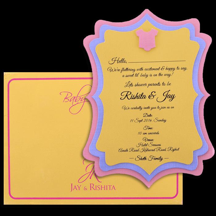 Baby Shower Invitations - BSI-9764 - 4