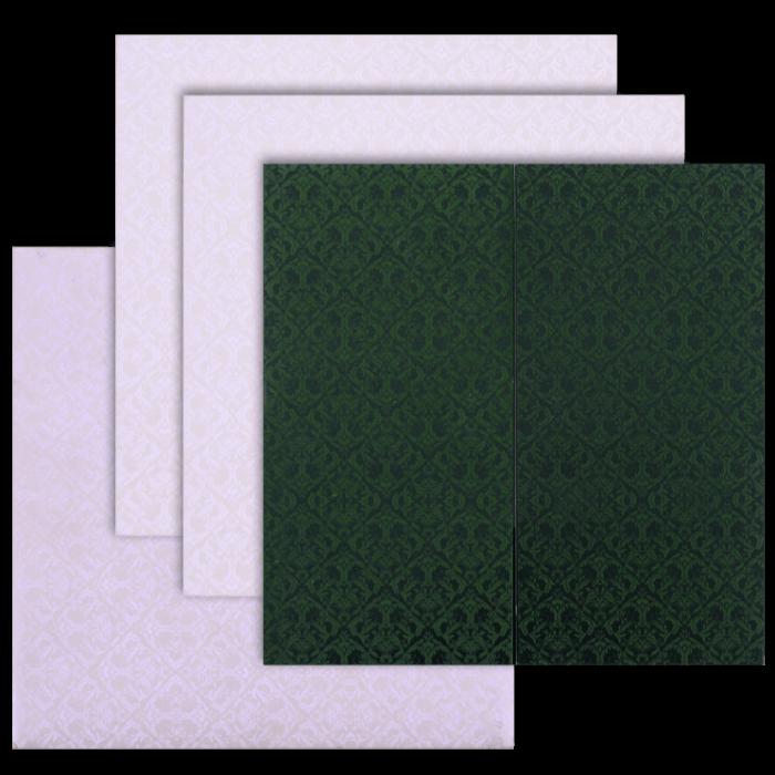 Muslim Wedding Cards - MWC-9049GC - 4