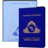 Muslim Wedding Cards - MWC-8971
