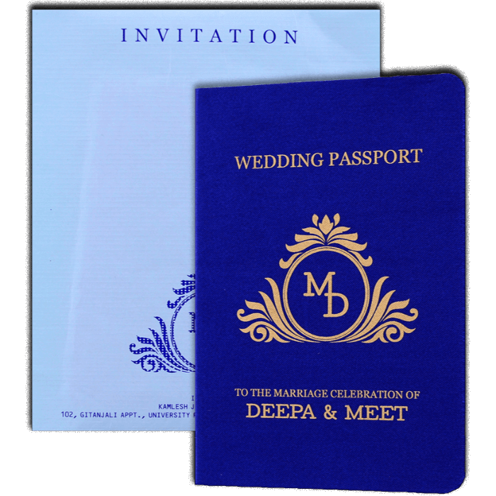 Hindu Wedding Cards - HWC-8971 - 2