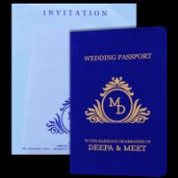 Designer Wedding Cards - DWC-8971