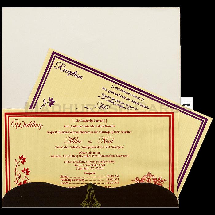 Thread Ceremony Invites - TCI-7595 - 5