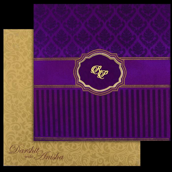 Fabric Wedding Cards - FWI-7447I