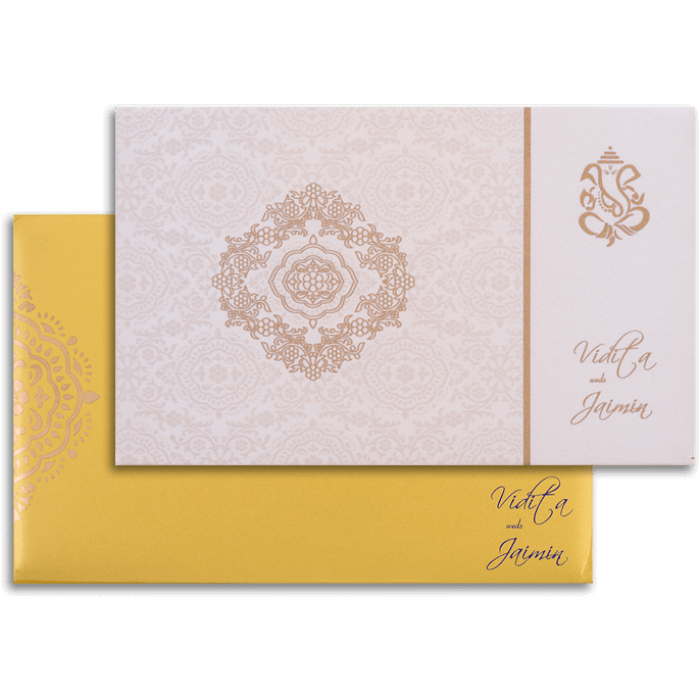 Hindu Wedding Cards - HWC-7331
