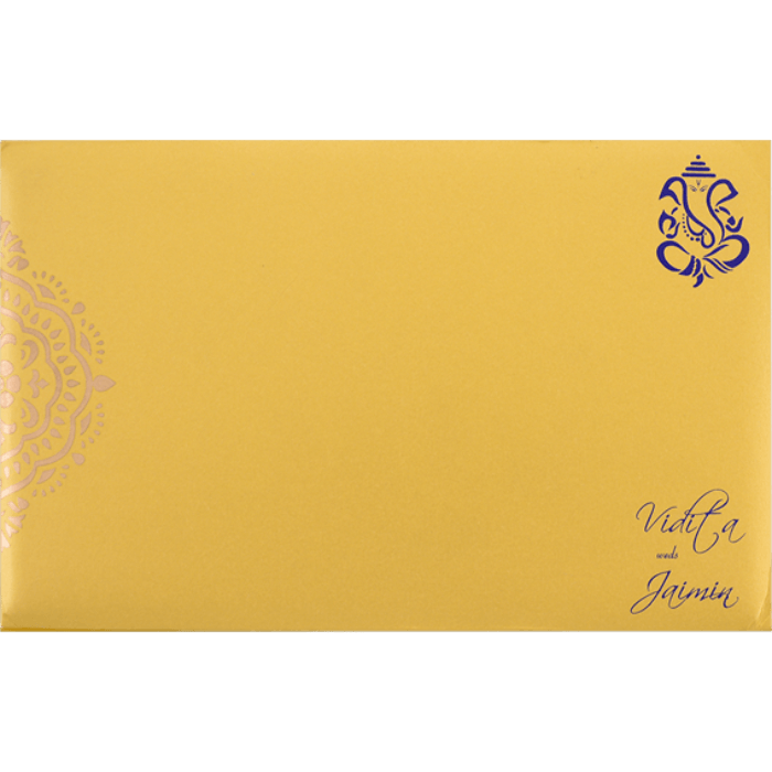 Hindu Wedding Cards - HWC-7331 - 3