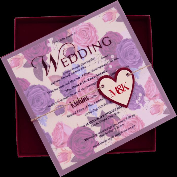 Muslim Wedding Cards - MWC-9402 - 3