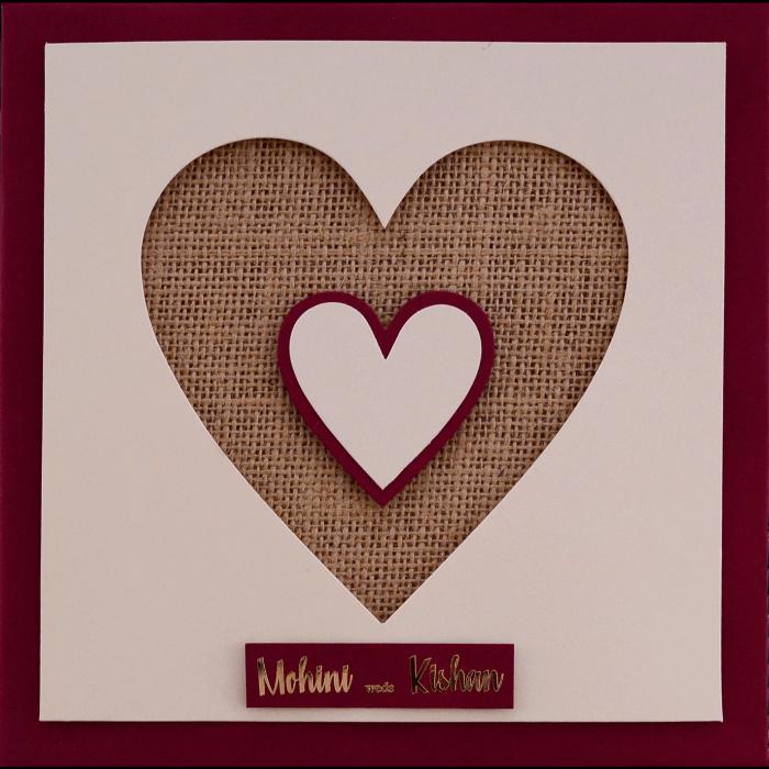 Muslim Wedding Cards - MWC-9402 - 4
