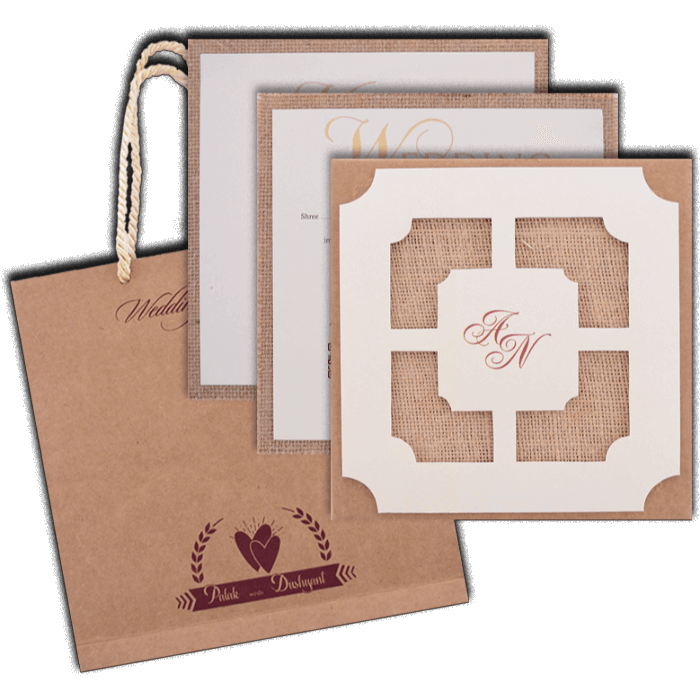 Muslim Wedding Cards - MWC-9404 - 5