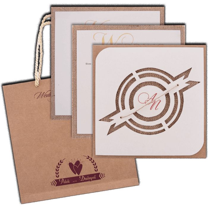 Hindu Wedding Cards - HWC-9405 - 5