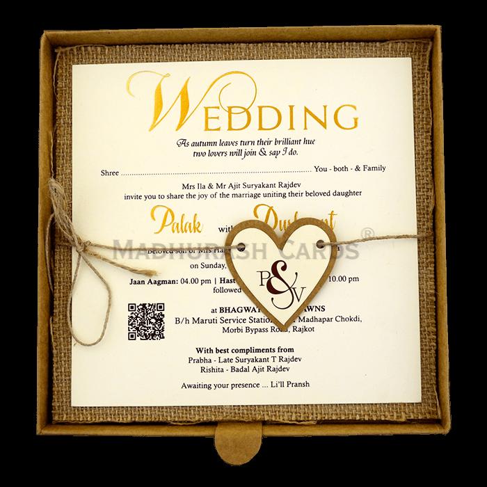 Kraft Wedding Invitations - KWC-9405 - 4