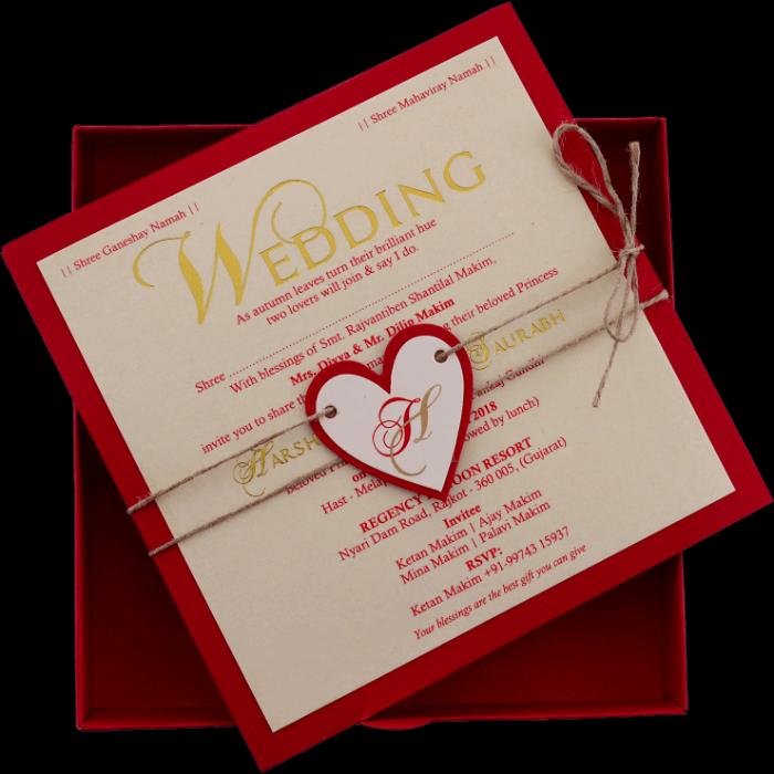 Christian Wedding Cards - CWI-9421R