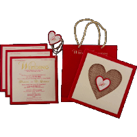 Designer Wedding Cards - DWC-9421R