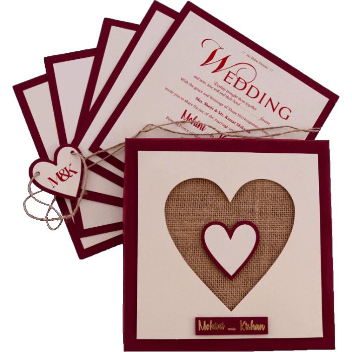 Hindu Wedding Cards - HWC-9421M