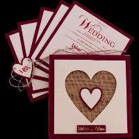 Designer Wedding Cards - DWC-9421M