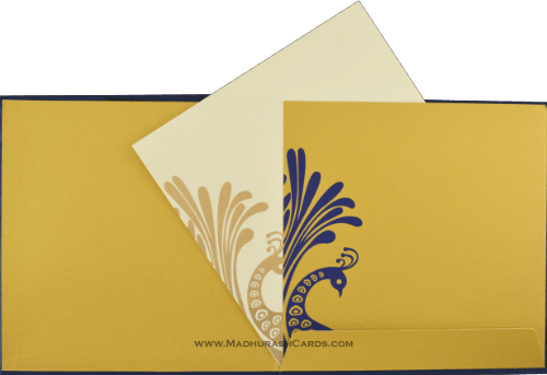 Muslim Wedding Cards - MWC-9038BG - 4