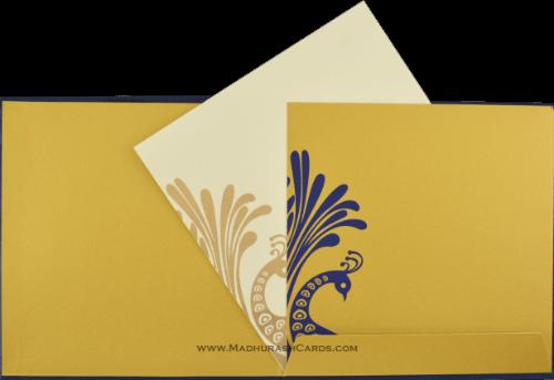 Hindu Wedding Cards - HWC-9038BG - 4