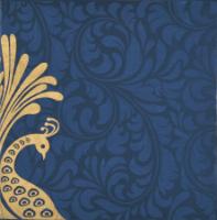 Fabric Wedding Cards - FWI-9038BG