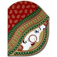 Hindu Wedding Cards - HWC-9016RG