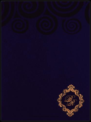 Hindu Wedding Cards - HWC-9045BC