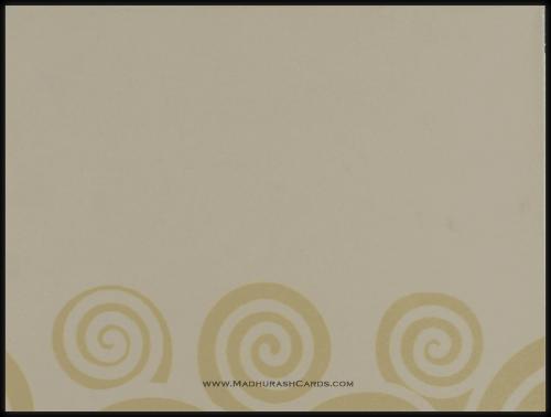 Hindu Wedding Cards - HWC-9045BC - 4