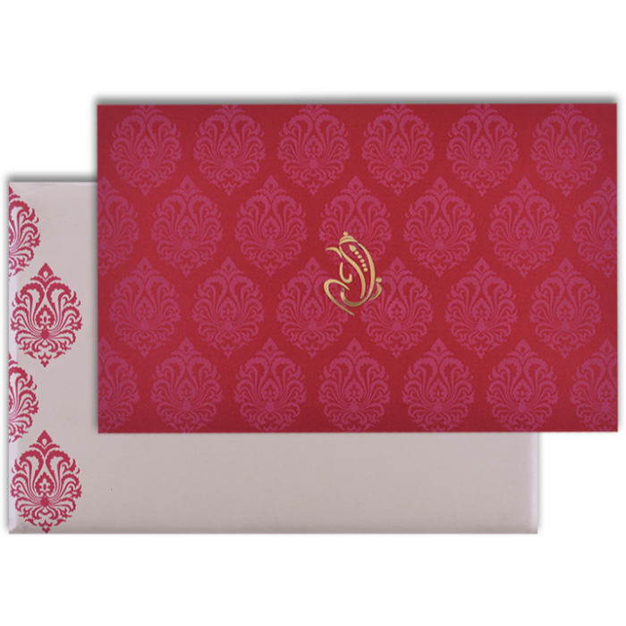 Hindu Wedding Cards - HWC-9117RC - 2