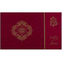 Designer Wedding Cards - DWC-7332