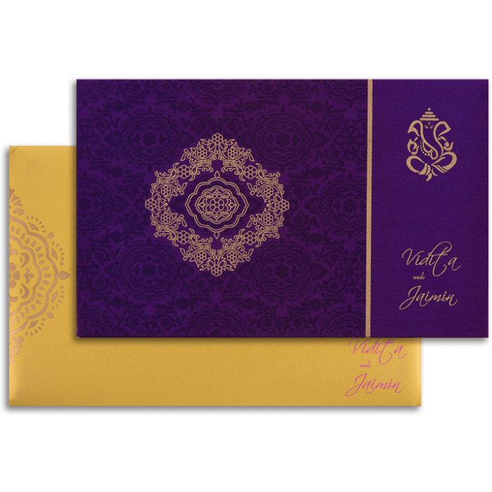 Hindu Wedding Cards - HWC-7333
