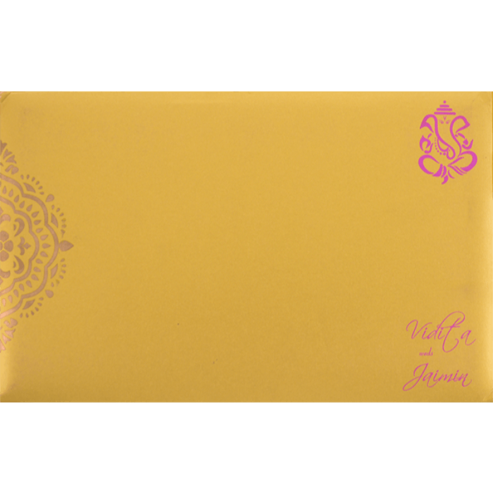 Hindu Wedding Cards - HWC-7333 - 3