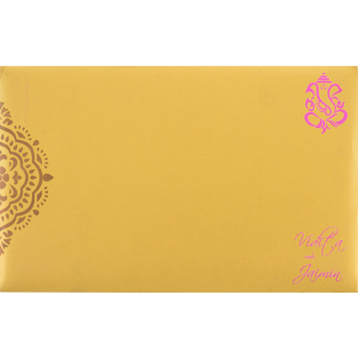 Hindu Wedding Cards - HWC-7334 - 3