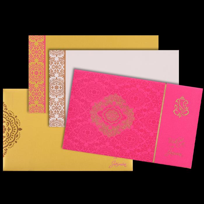 Hindu Wedding Cards - HWC-7334 - 4