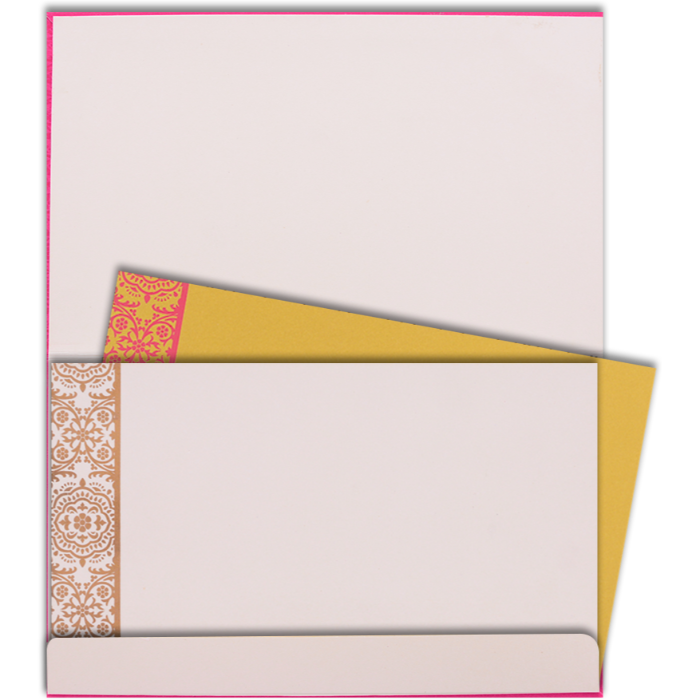 Hindu Wedding Cards - HWC-7334 - 5