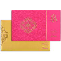 Designer Wedding Cards - DWC-7334