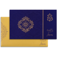Fabric Wedding Cards - FWI-7335