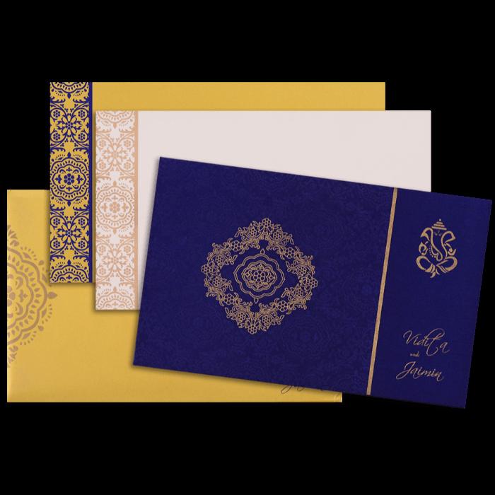 Fabric Wedding Cards - FWI-7335 - 4