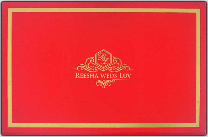 test Luxury Wedding Cards - LWC-8742
