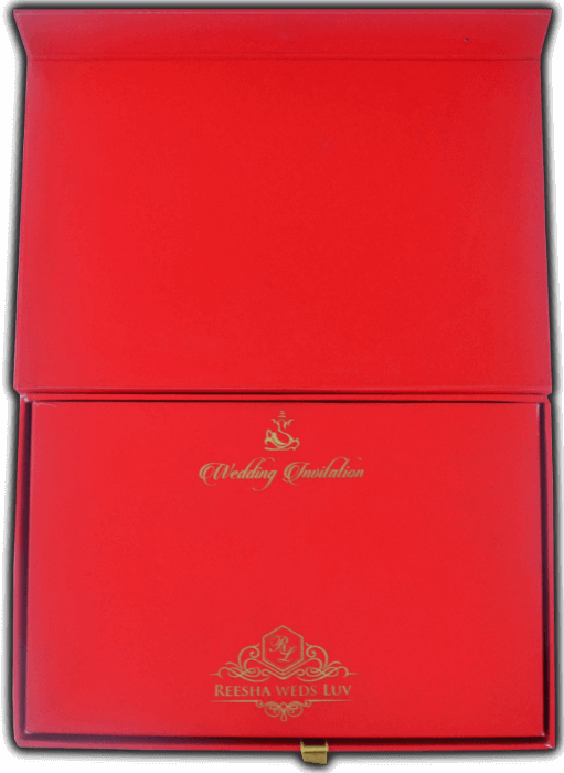 Luxury Wedding Cards - LWC-8742 - 4