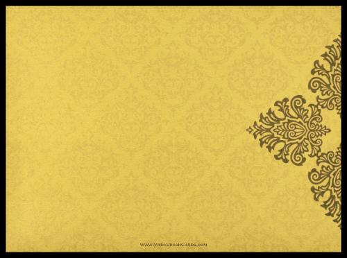 Fabric Wedding Cards - FWI-8832GG - 3