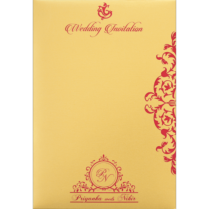 Hindu Wedding Cards - HWC-9108 - 5