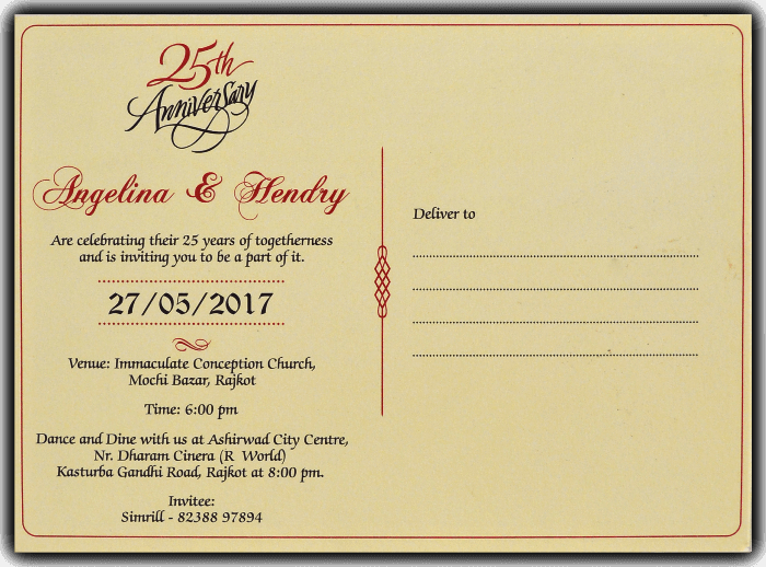 Birthday Invitation Cards - BPI-9791 - 3